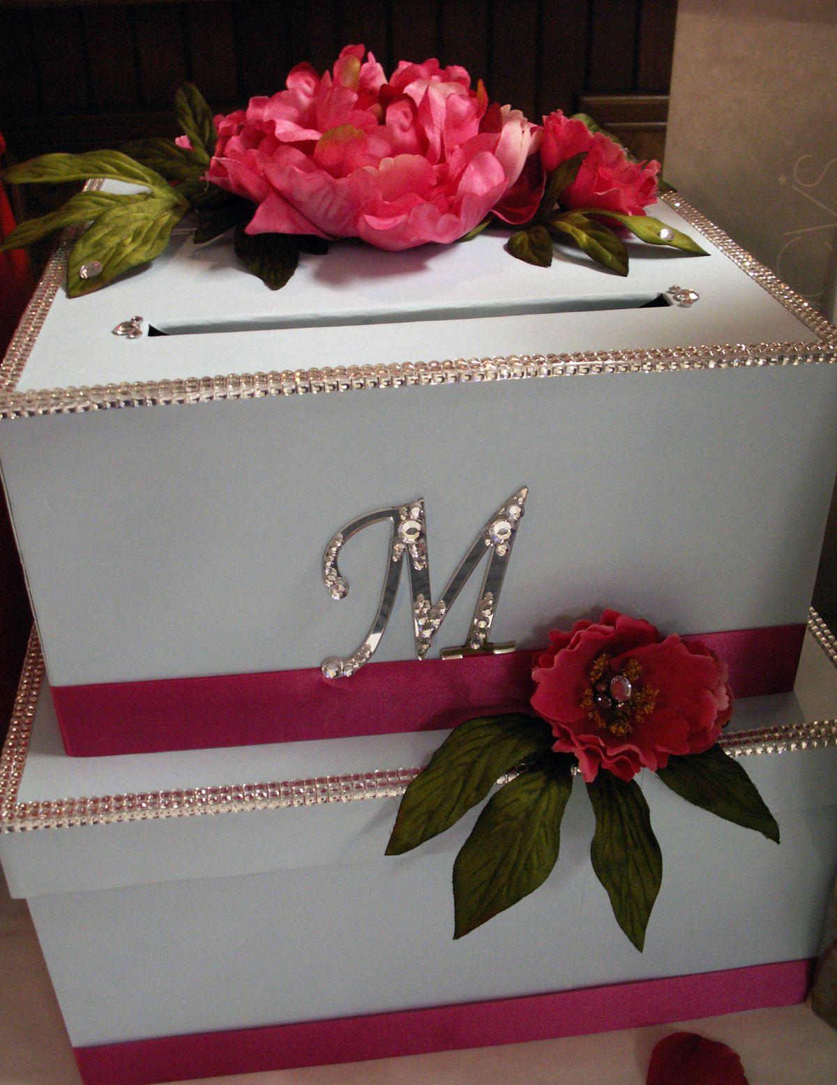 DIY Wedding Card Box Tutorial / http//www