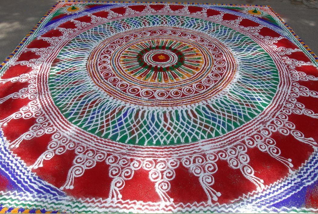 Rangoli Competition Winning Designs RANGOLI AND