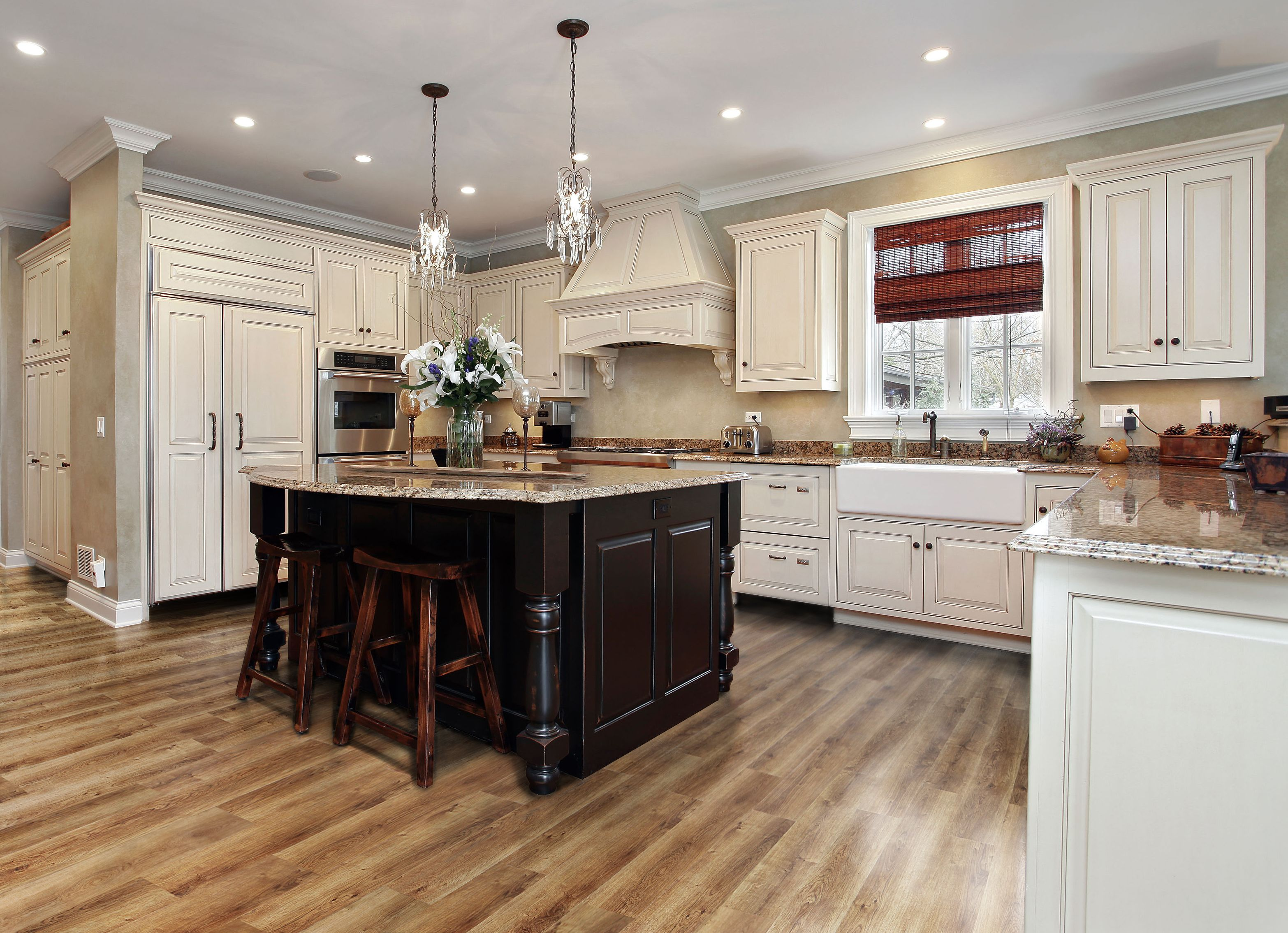 Add function and style to your kitchen, bathroom, and