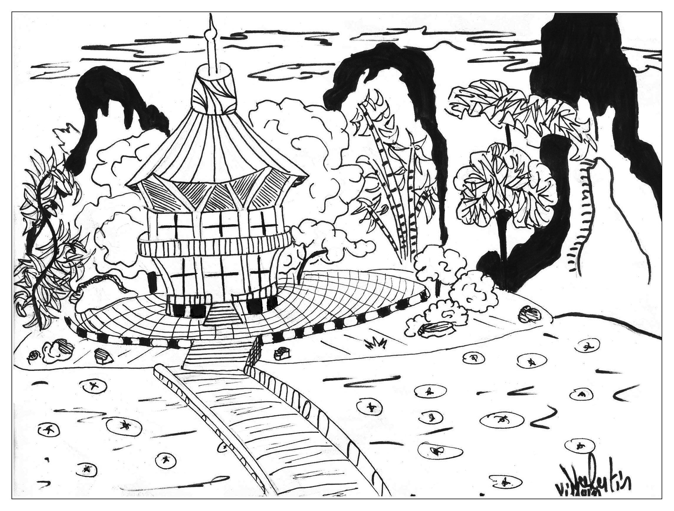A Wonderful Japan Landscape By Valentin From The Gallery Japan