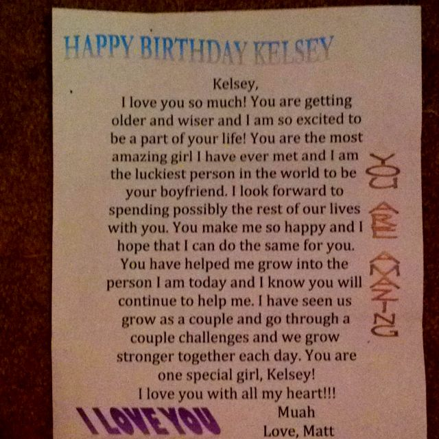 Happy Birthday Letters For Him Letterjdi