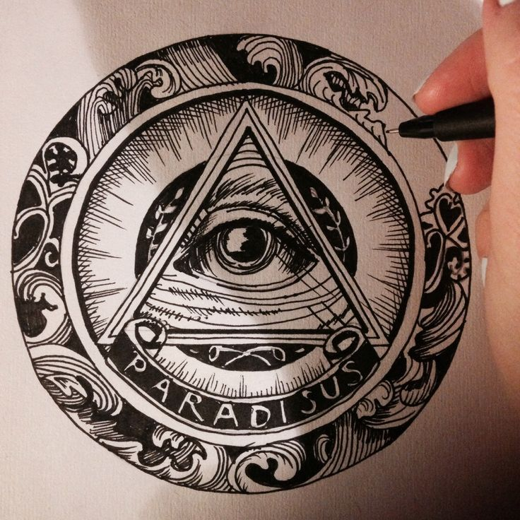 traditional all seeing eye tattoo design Google Search