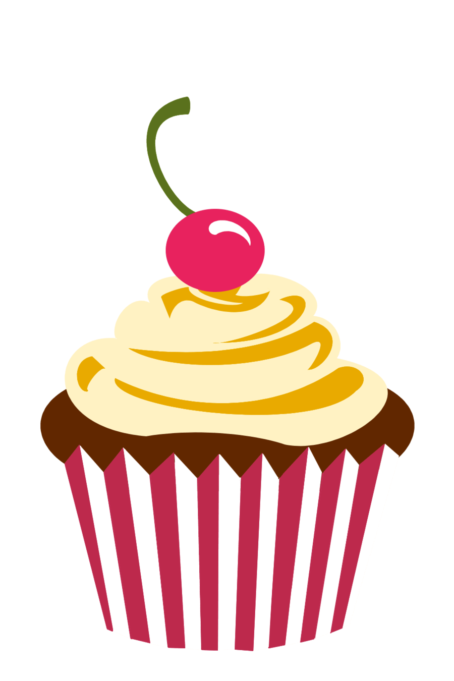 Cupcake Logo Png Cherry chocolate cupcake by Party