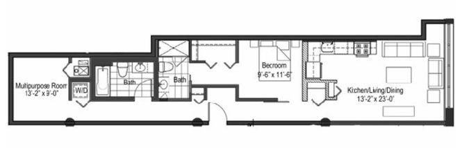 Long Narrow Apartment Floor Plans ~ Nice Apartement