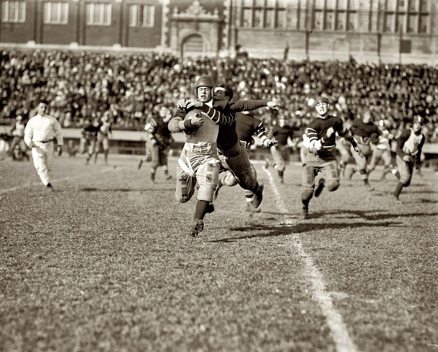 November 3, 1923. High school football in Washington, D.C