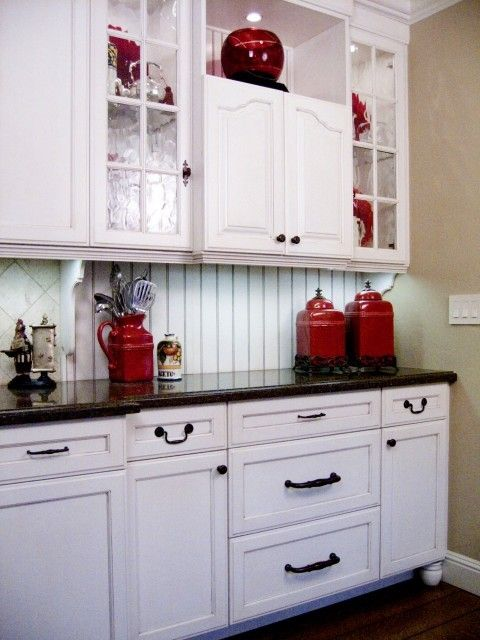 Red Kitchen Accents Decor