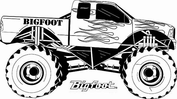 1000 images about coloring pages on pinterest monster trucks