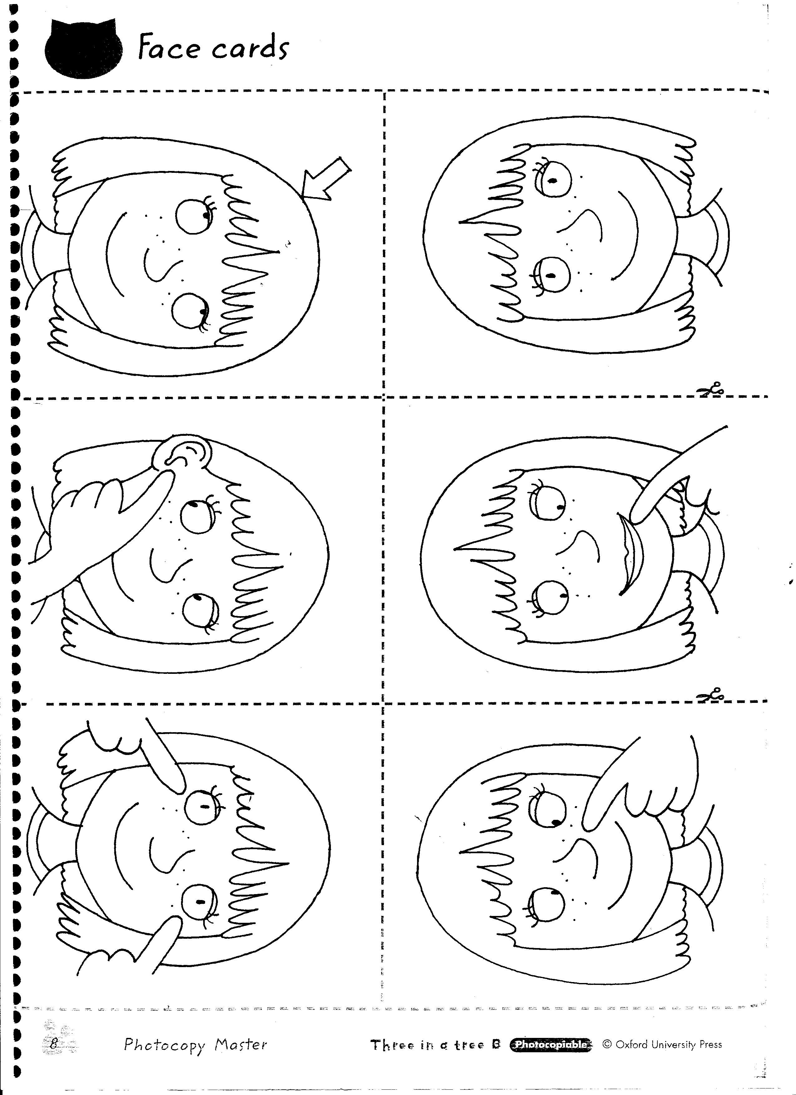 Beautiful Body Parts Coloring Pages For Preschool