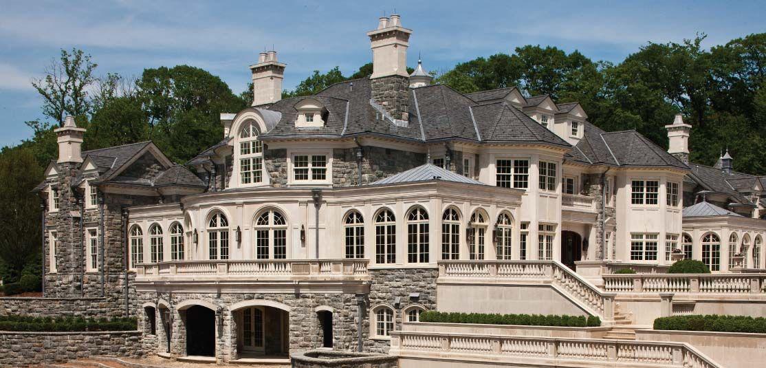 Alpine Stone Mansion Homes & Architecture Pinterest