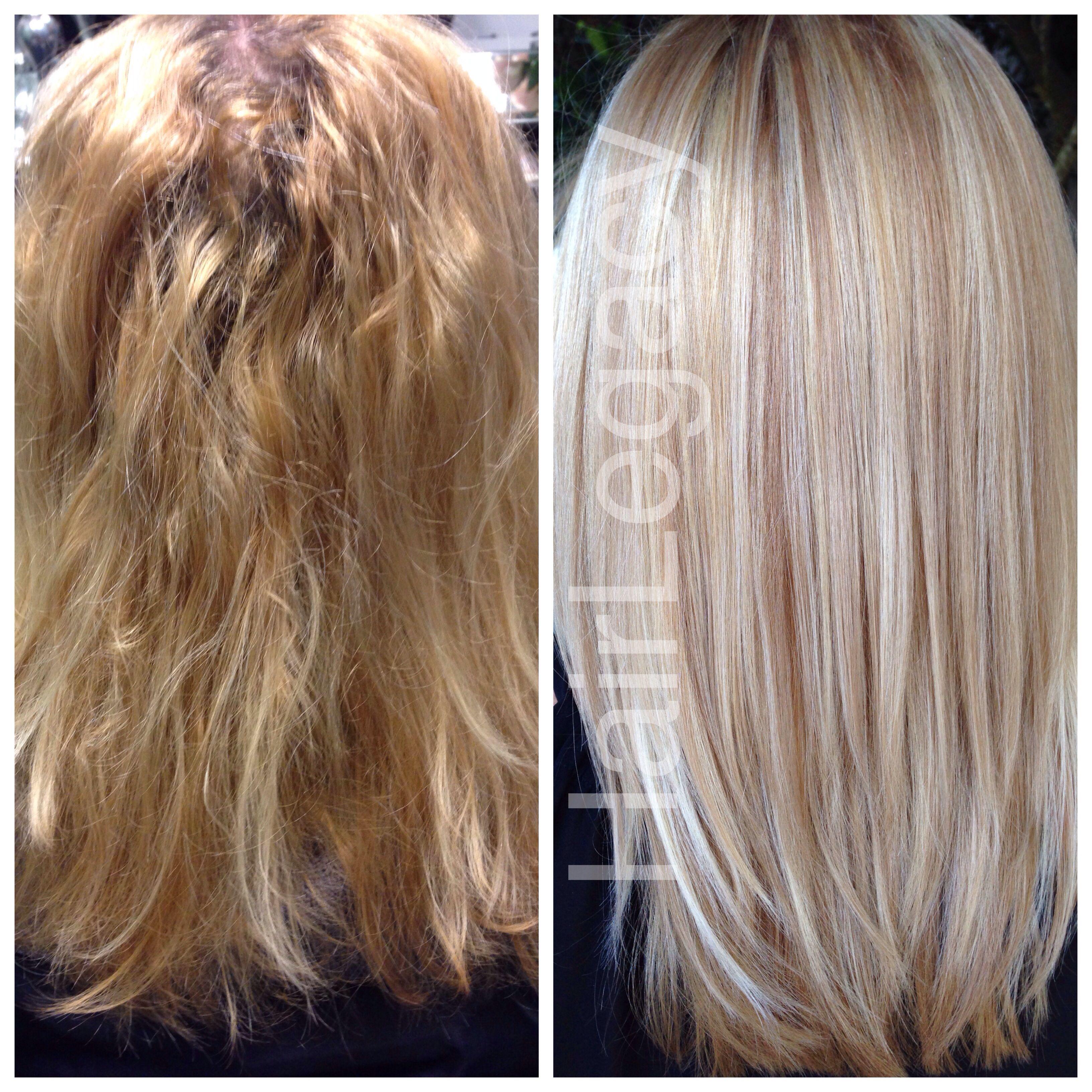 Color correction by Emilio V hairlegacy focussalon healthyhair