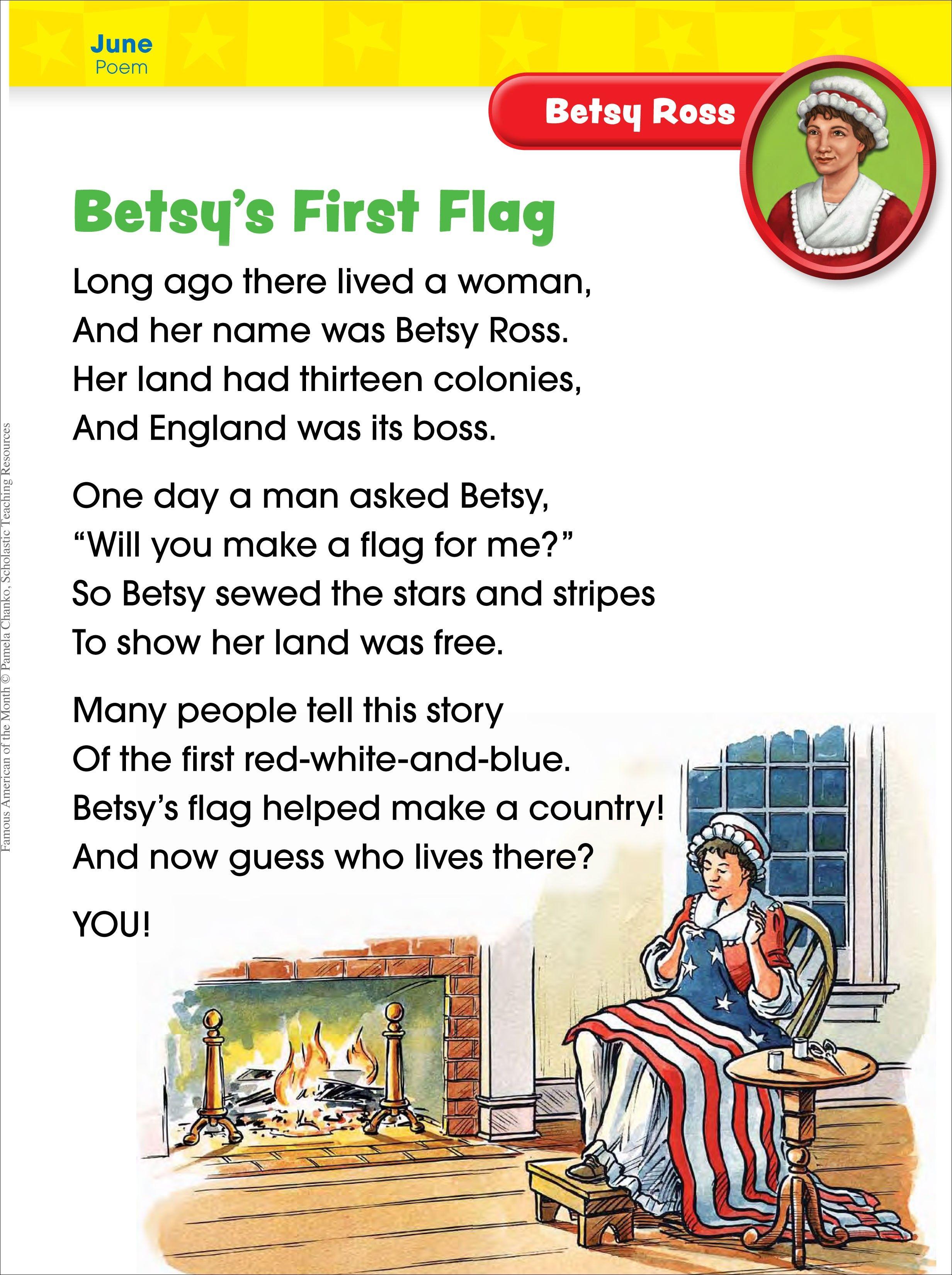 Betsy Ross Poem