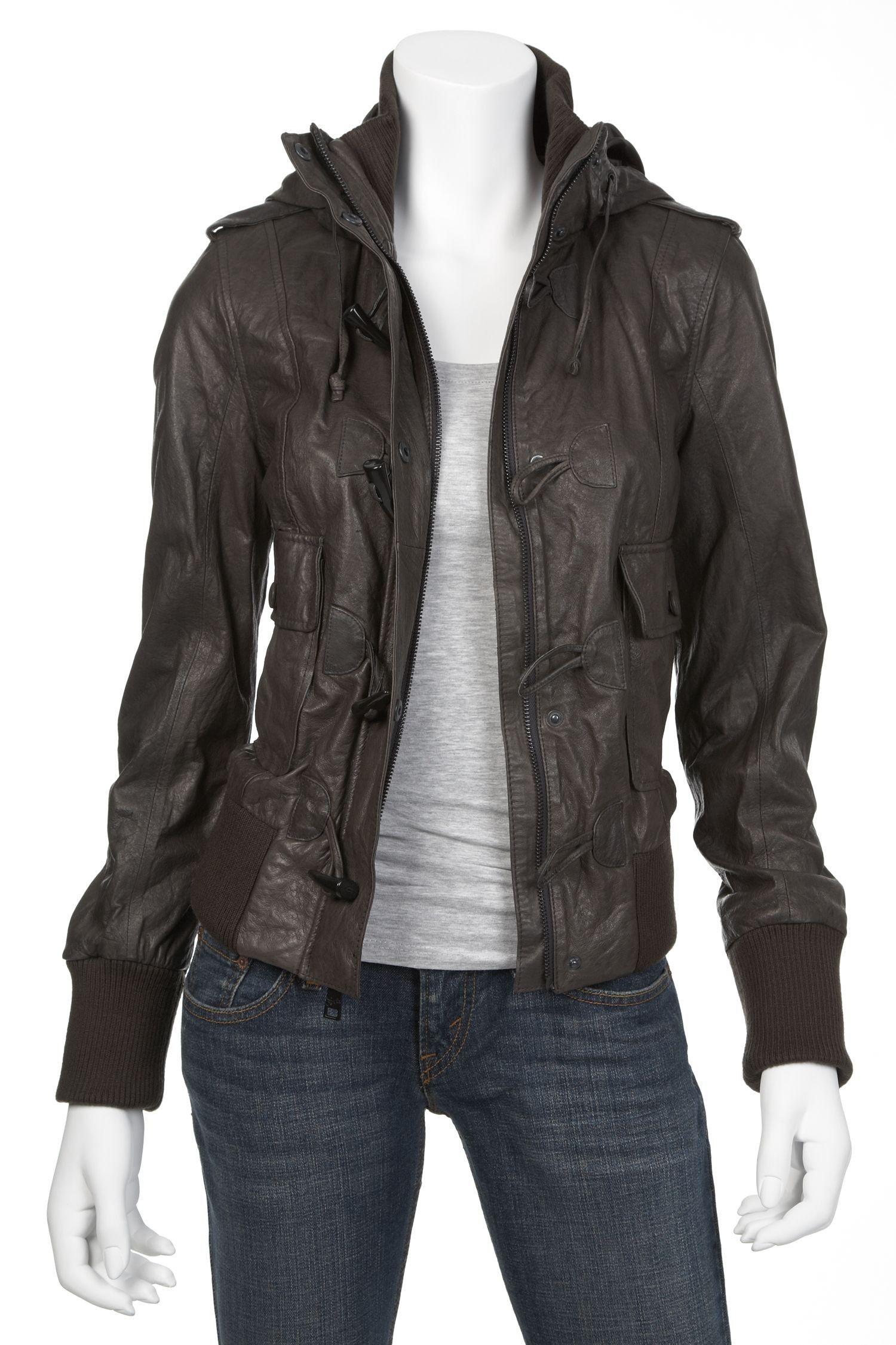 Levi's womens leather jacket Body Canvas Pinterest