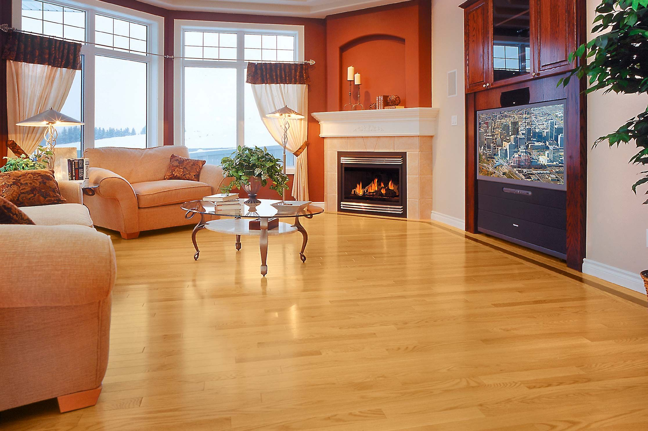 Red Oak Golden Inspiration Collection by Mirage Floors