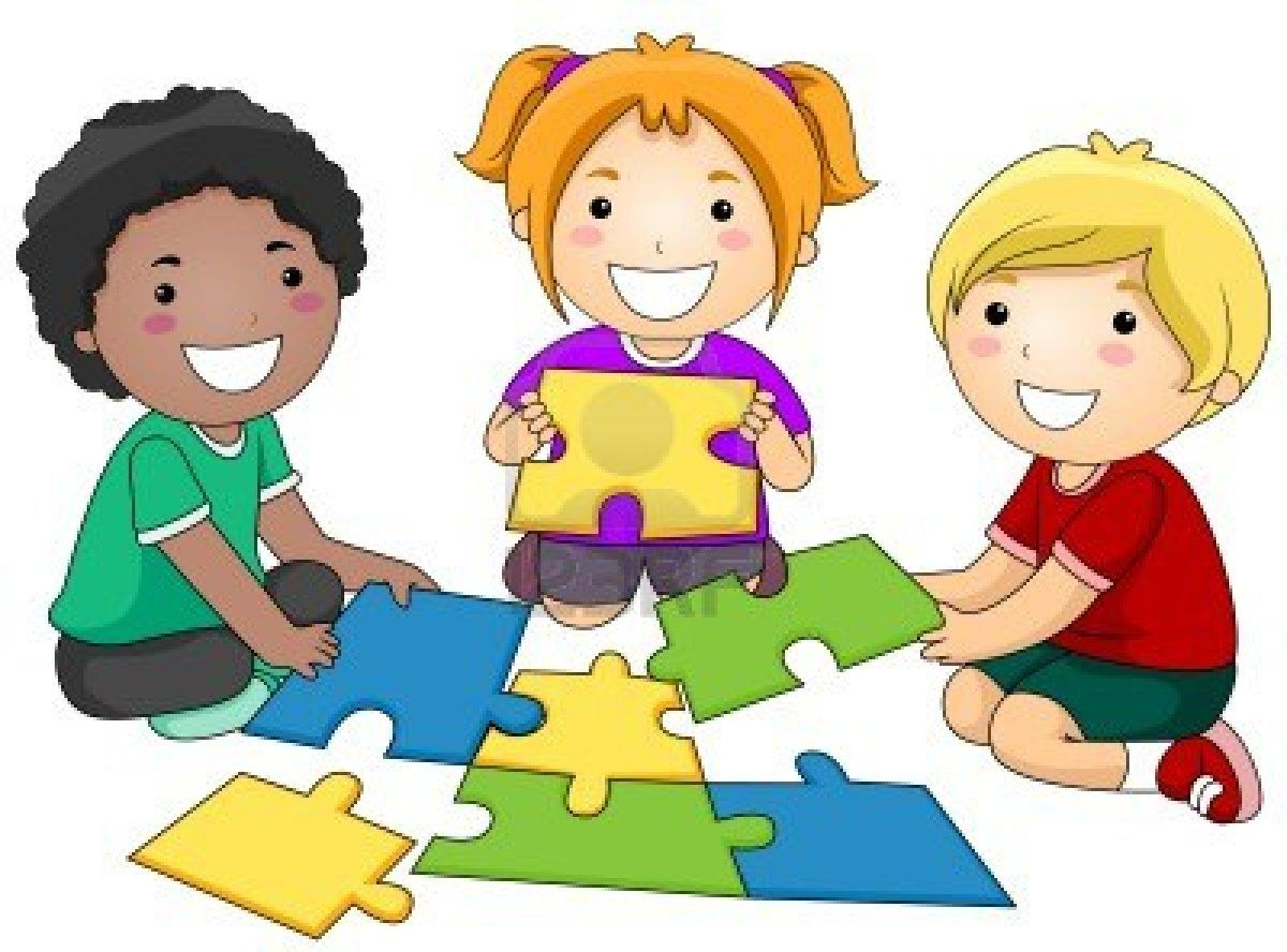 Synergize kids assembling puzzle 7 Habits Happy Kids