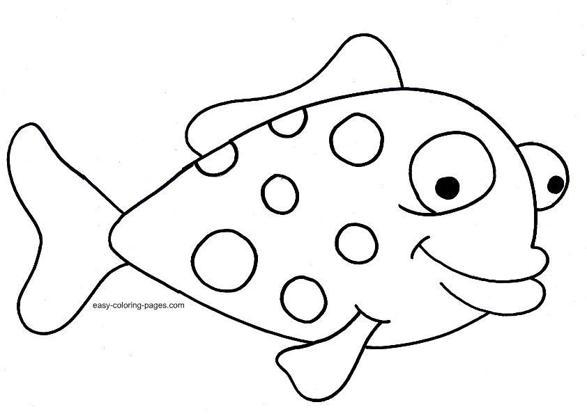 kindergarten colouring fish worksheets google search