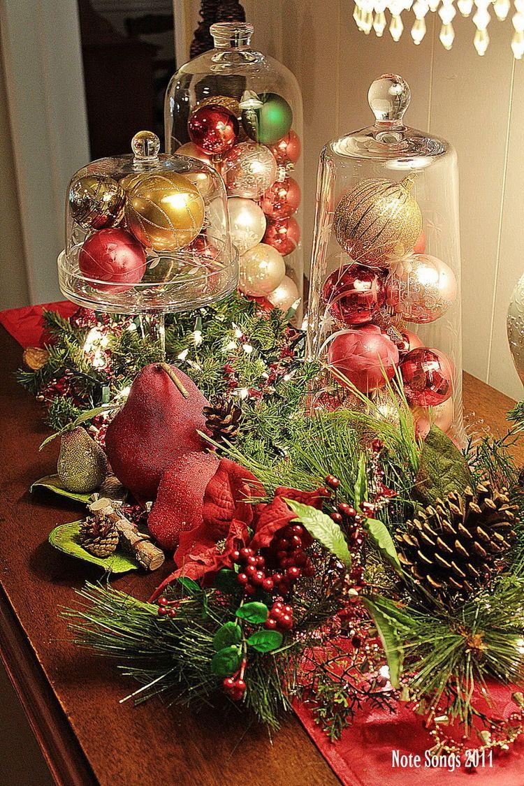 50 Stunning Christmas Table Settings Table decorations