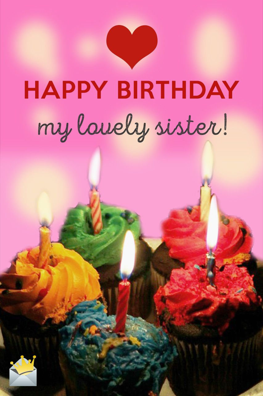 Sisters Are Forever Happy birthday messages, Birthday