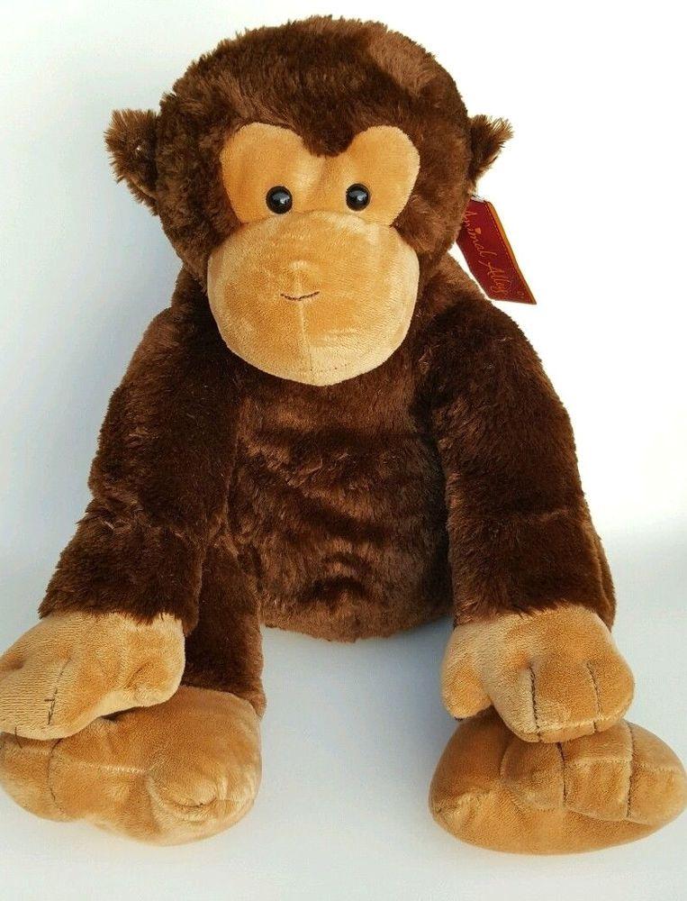 Toys R US Large Plush Monkey Ape Chimp Stuffed Animal