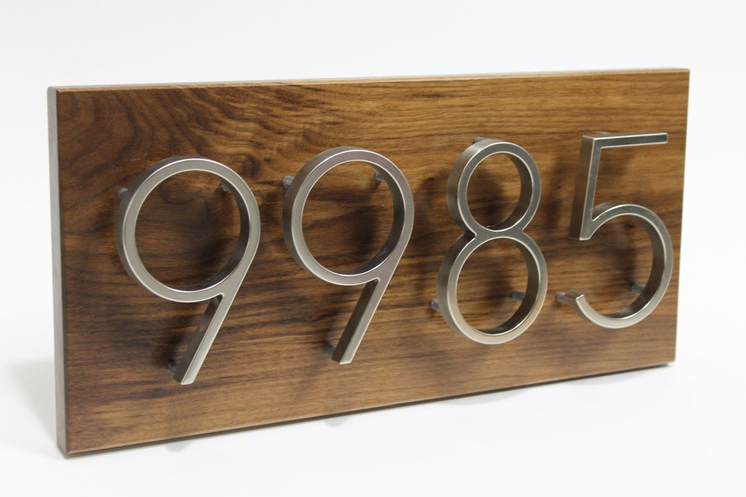 House Numbers, Contemporary,House Number Sign, Modern
