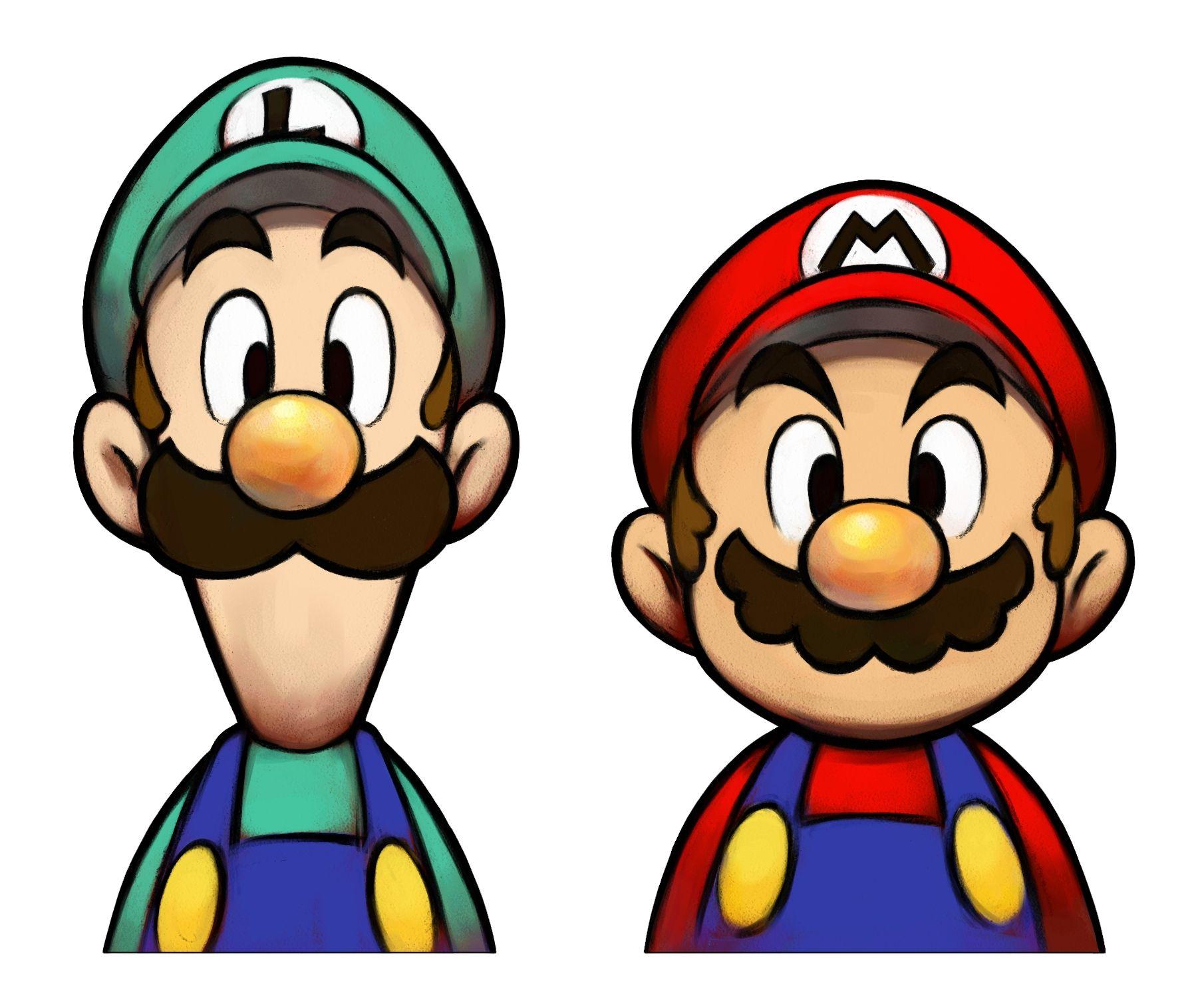 Super Mario Bros Luigi Clipart Face Painting Stuff