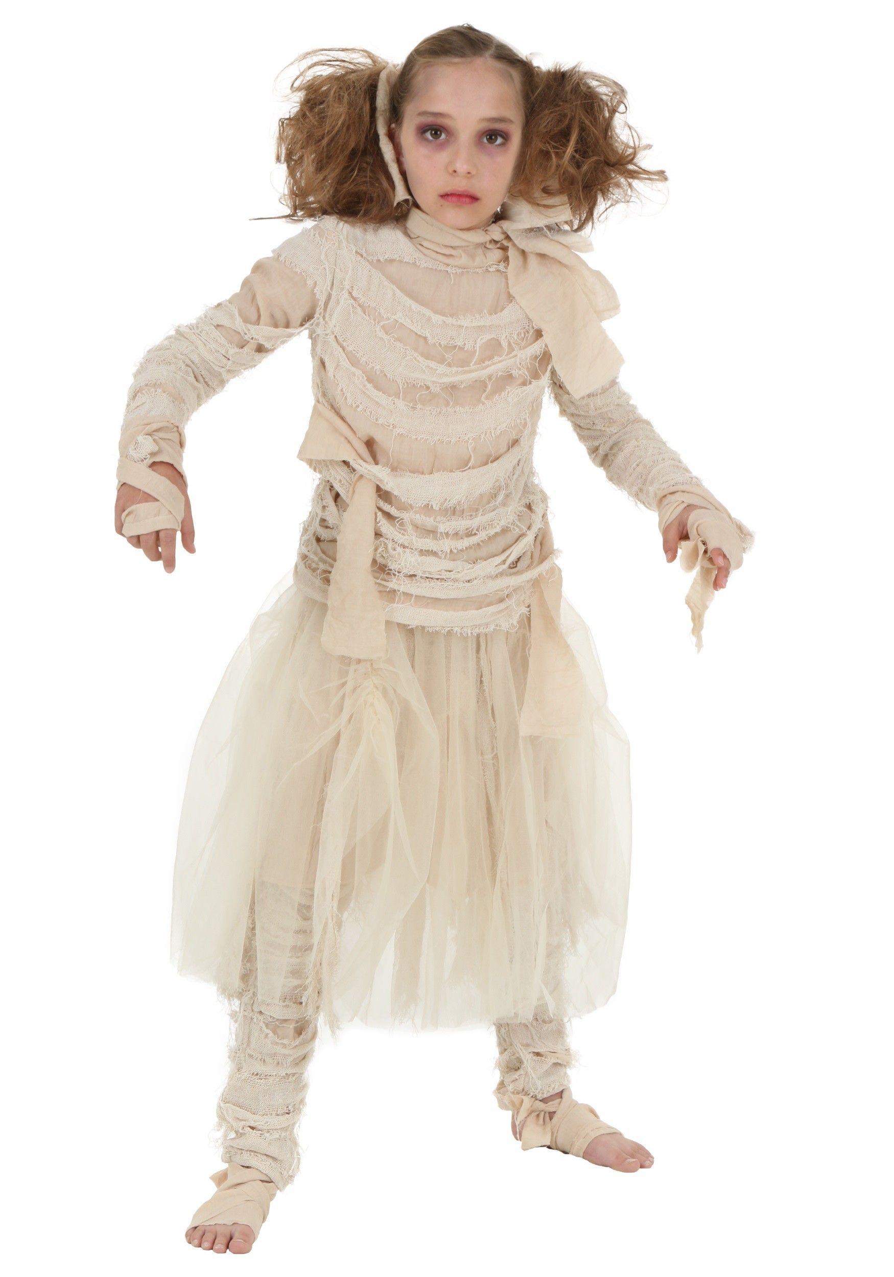 Girls Mummy Costume Halloween15 Pinterest Costumes