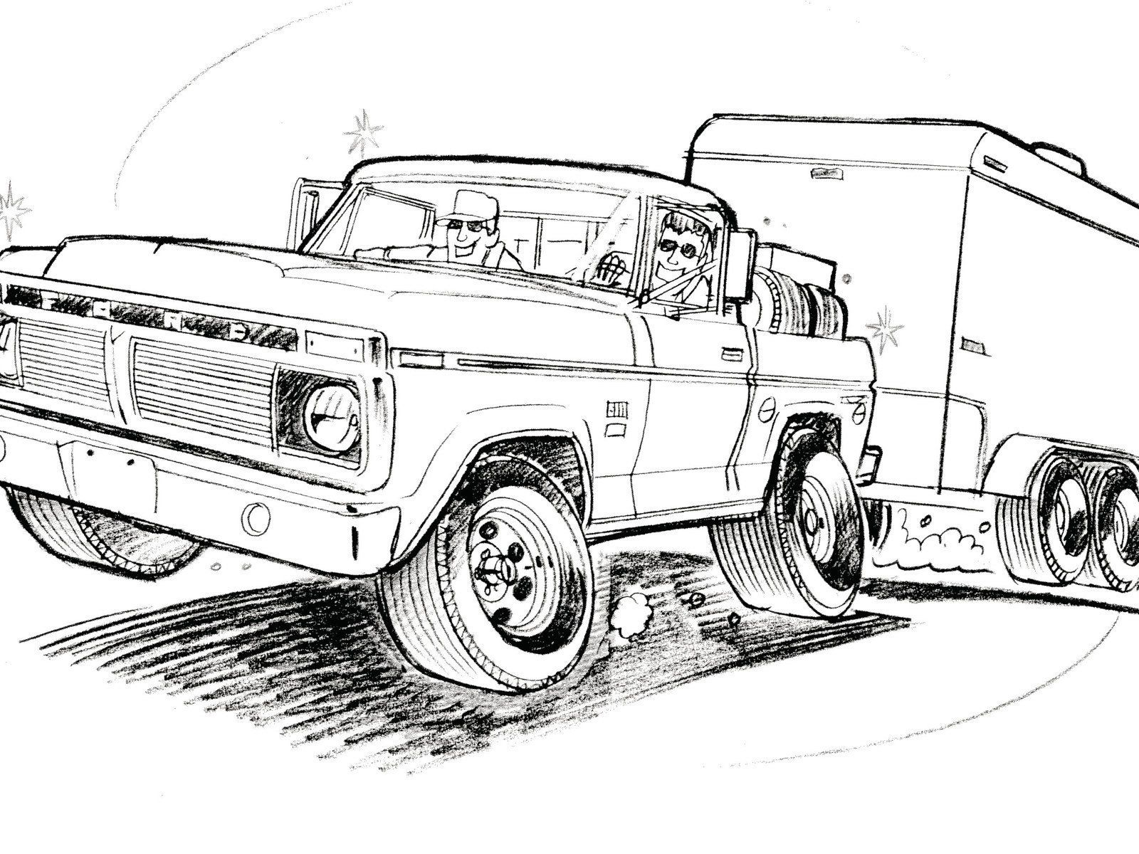 Ford F350 Drawings