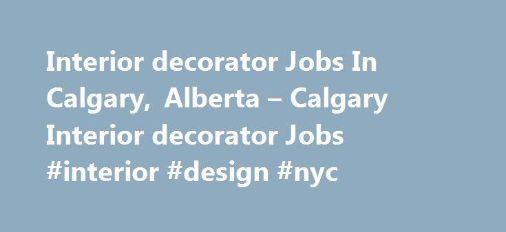 Interior design jobs calgary alberta