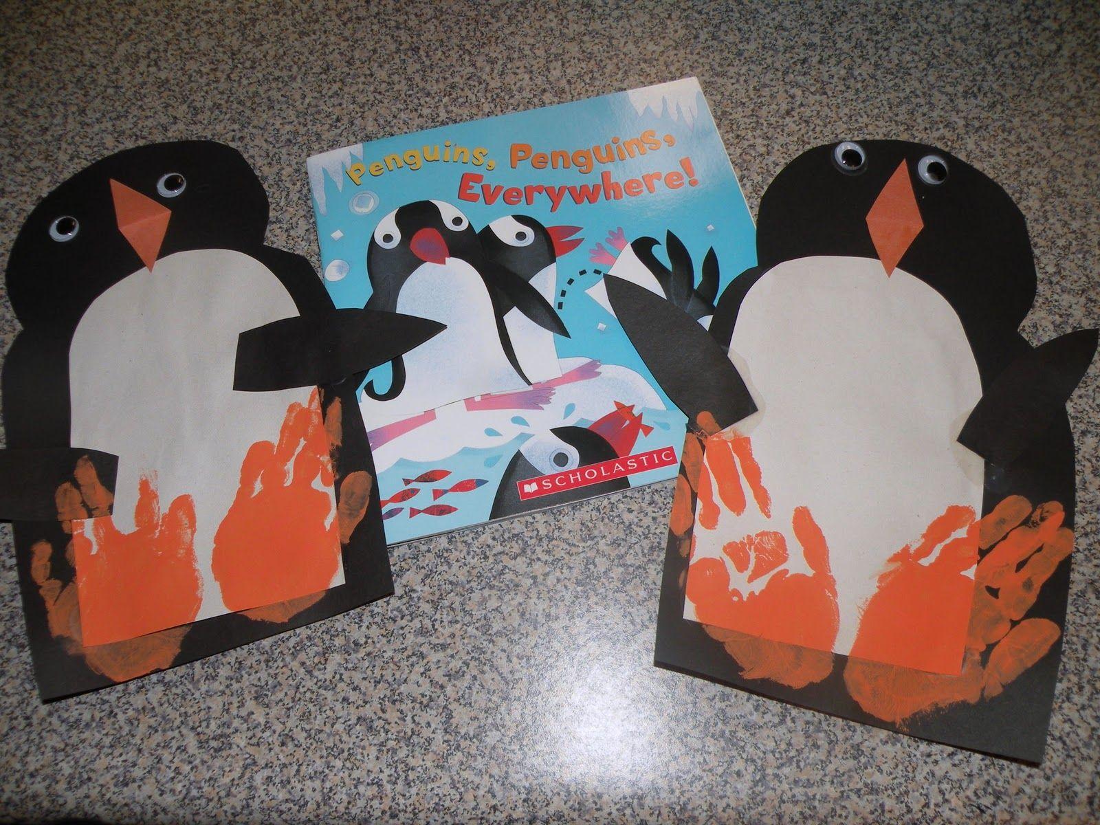 Casa Camacho Book Project Penguins Penguins Everywhere