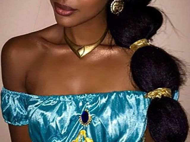 beautiful ethiopian woman with a traditional dress, hairstyle, and