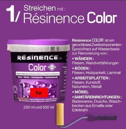 af6c8179d8 Resinence Color Schwarz Stahl Metallic Und Alu Selber Machen