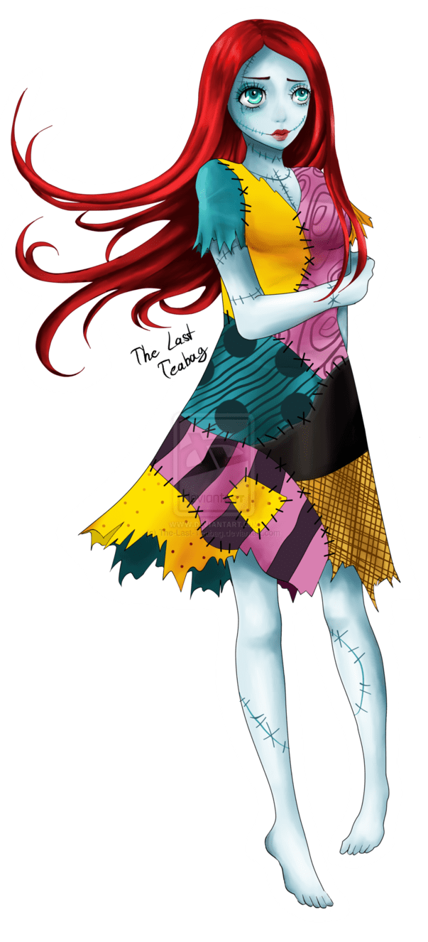 Nightmare Before Christmas Sally by TheLastTeabag on