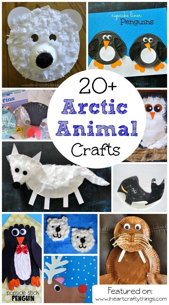 20+ Arctic & Antarctic Animal Crafts for Kids Arctic