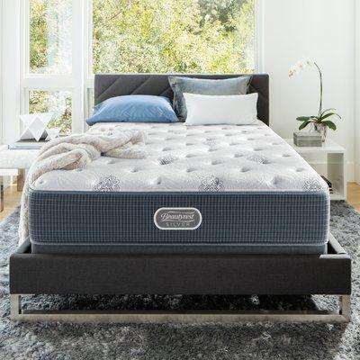 Simmons Beautyrest Long Beach Island 13 5 Plush Pillow Top Innerspring Mattress Size California King