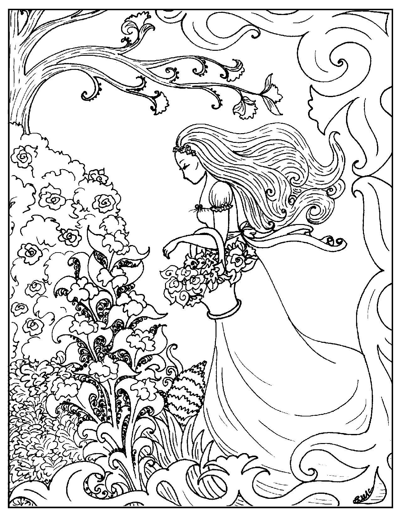 Art Deco Coloring Pages