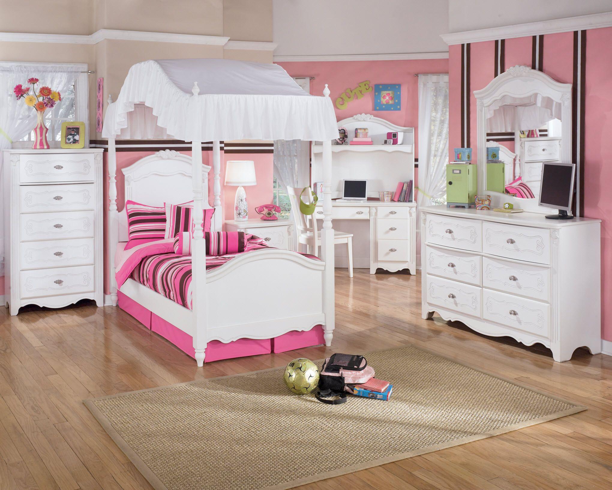 kid bedroom stripe pattern and white bedroom furniture set theme