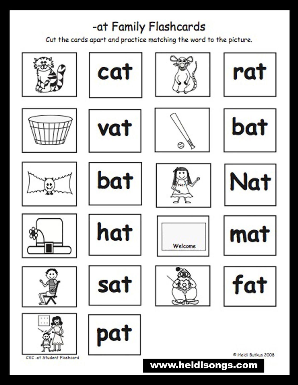 Circle The Rhyming Words Worksheet