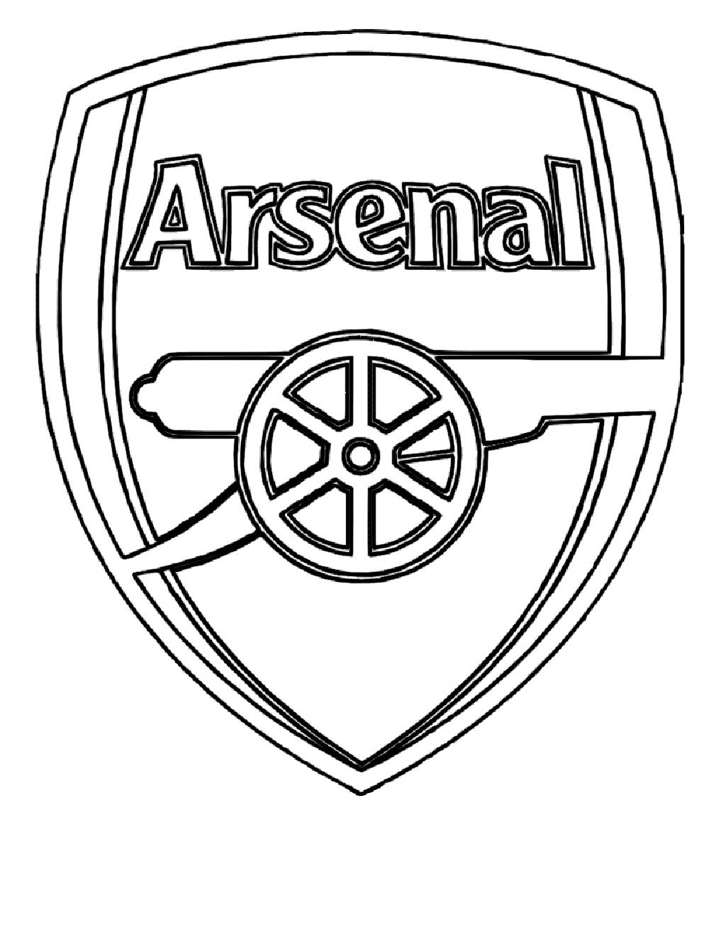 Arsenal Logo Black and White Stuff to Buy Pinterest