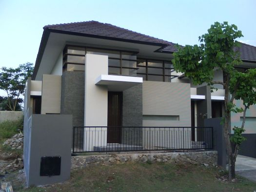 Exterior Modern Design How To Remodel Your House From The Outside Charming Grey Minimalist Home Combination Stone Wall