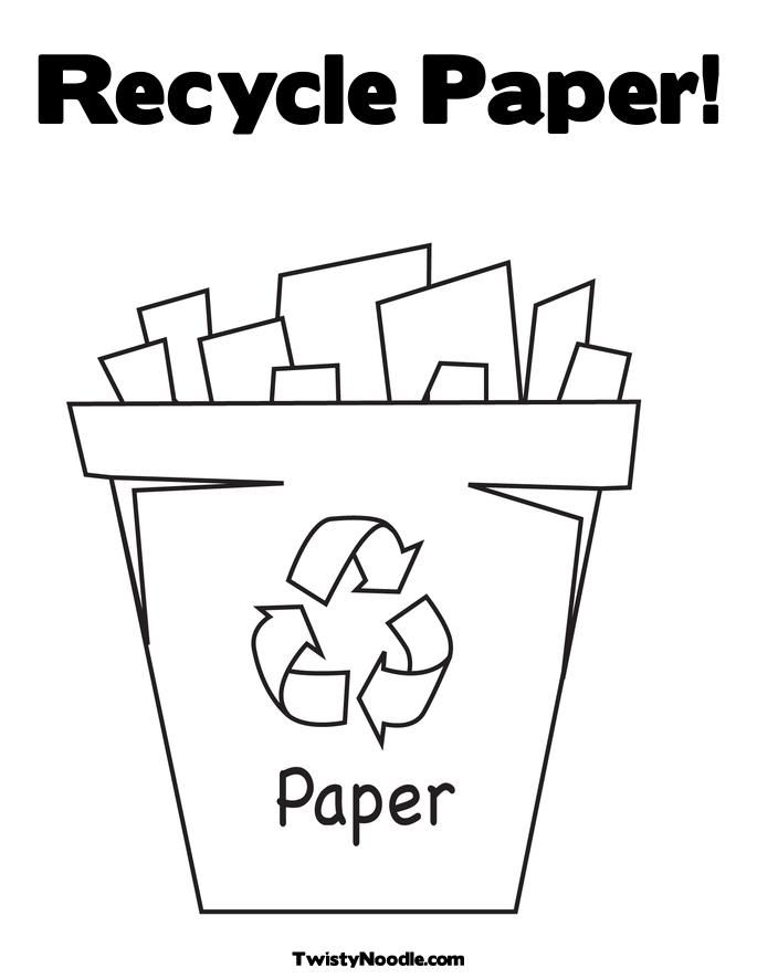 recycling coloring pages and coloring on pinterest