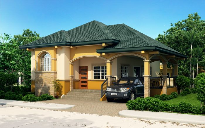 Althea Elevated Bungalow House Design Pinoy Eplans Modern House Designs Small House