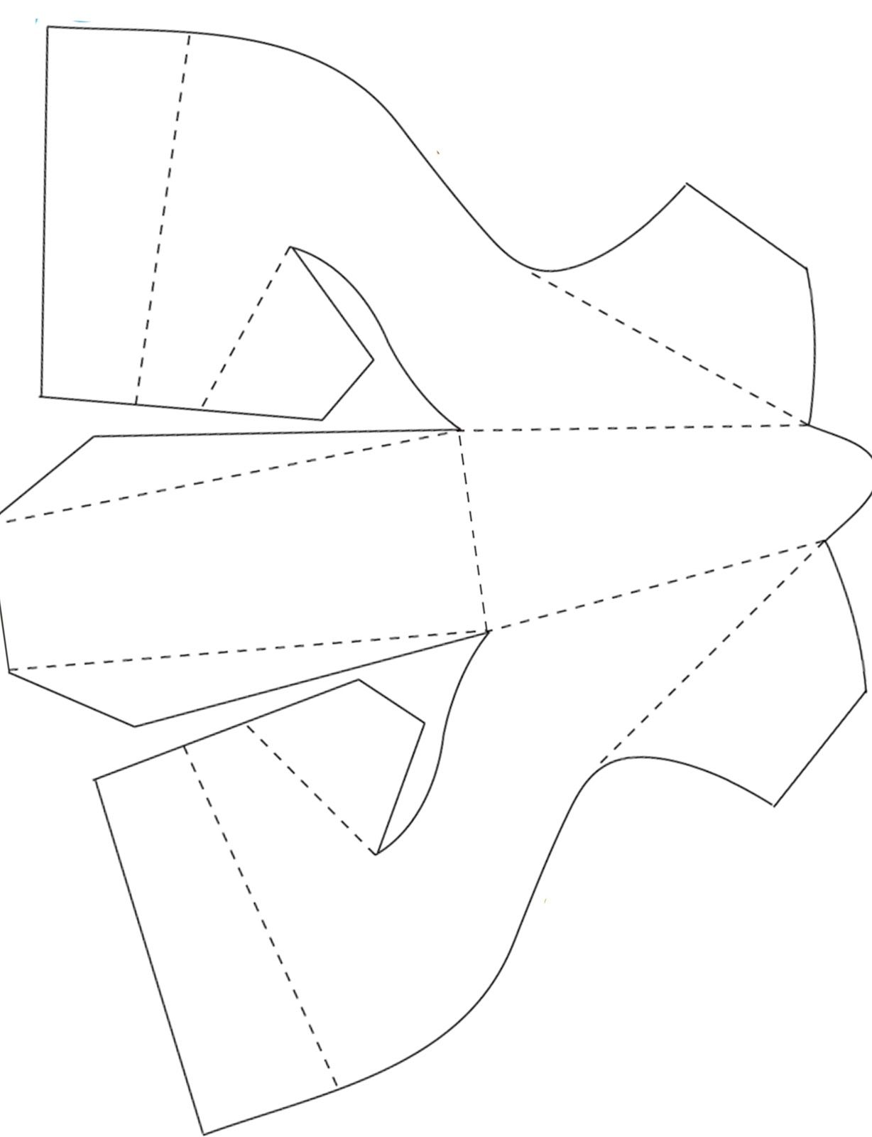 Free Paper Shoe Template