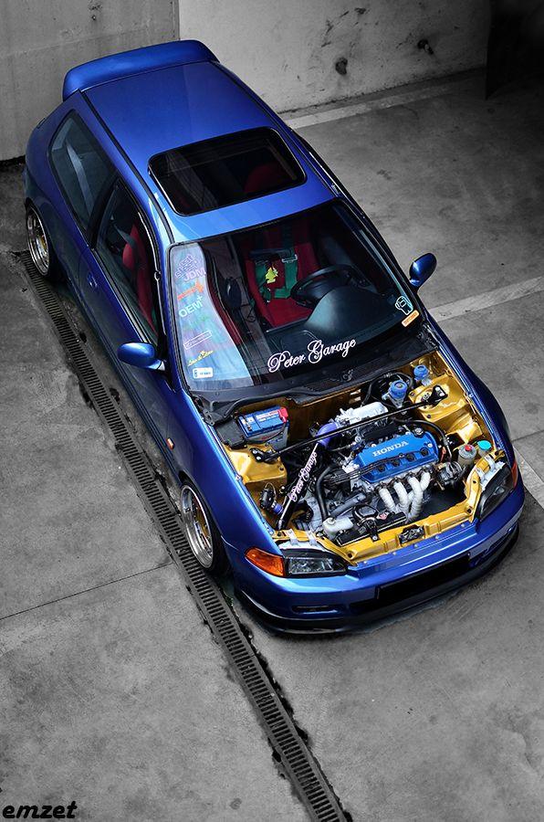 EG4 BLUE D16y8 by peter Honda