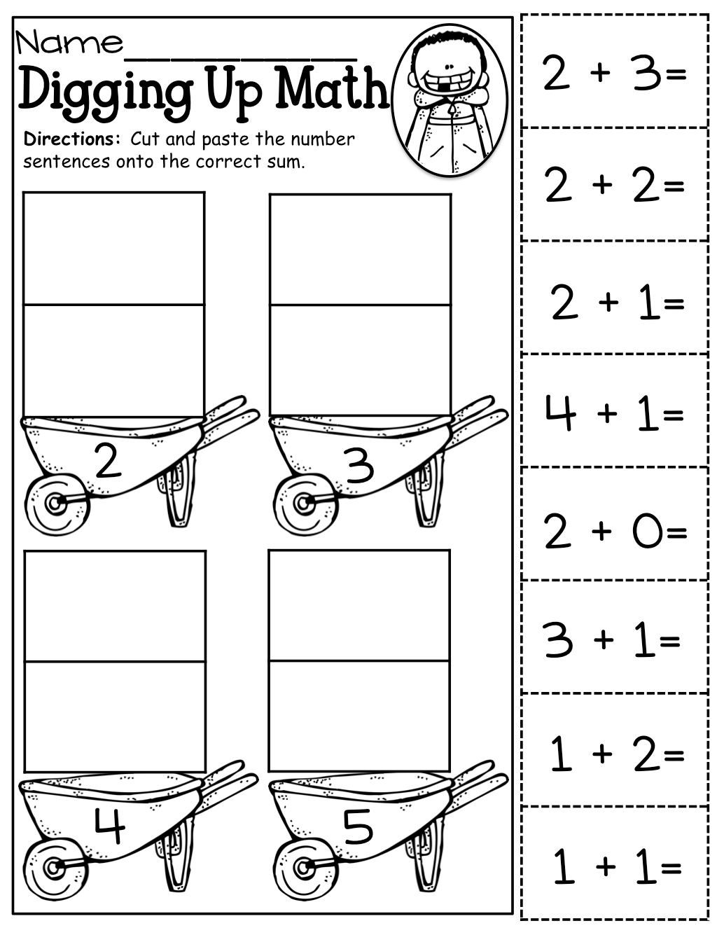 Worksheet Kindergarten Cut And Paste Worksheets Grass Fedjp Worksheet Study Site