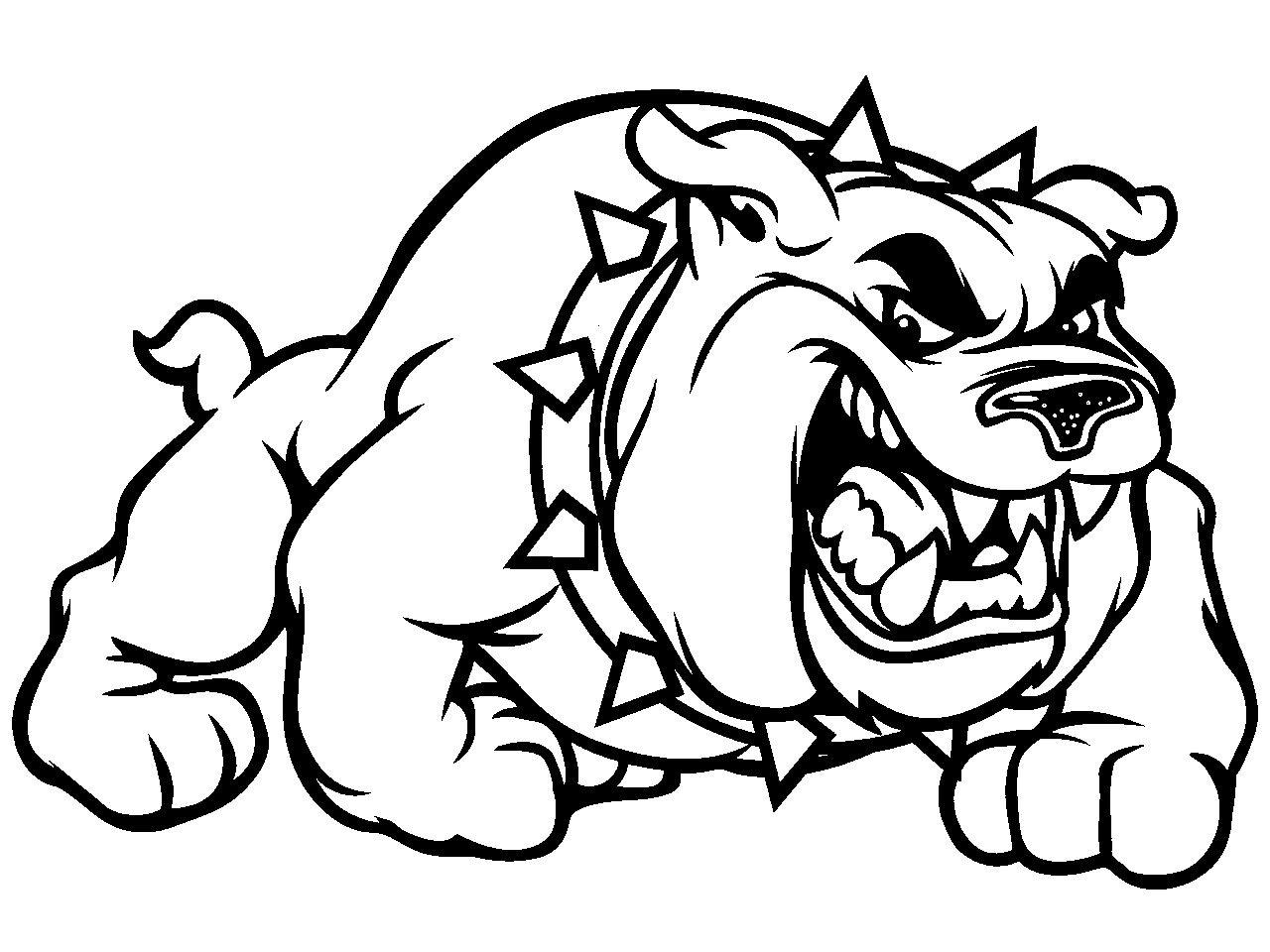 Bulldogs Pictures for School Disegni bulldog Disegni
