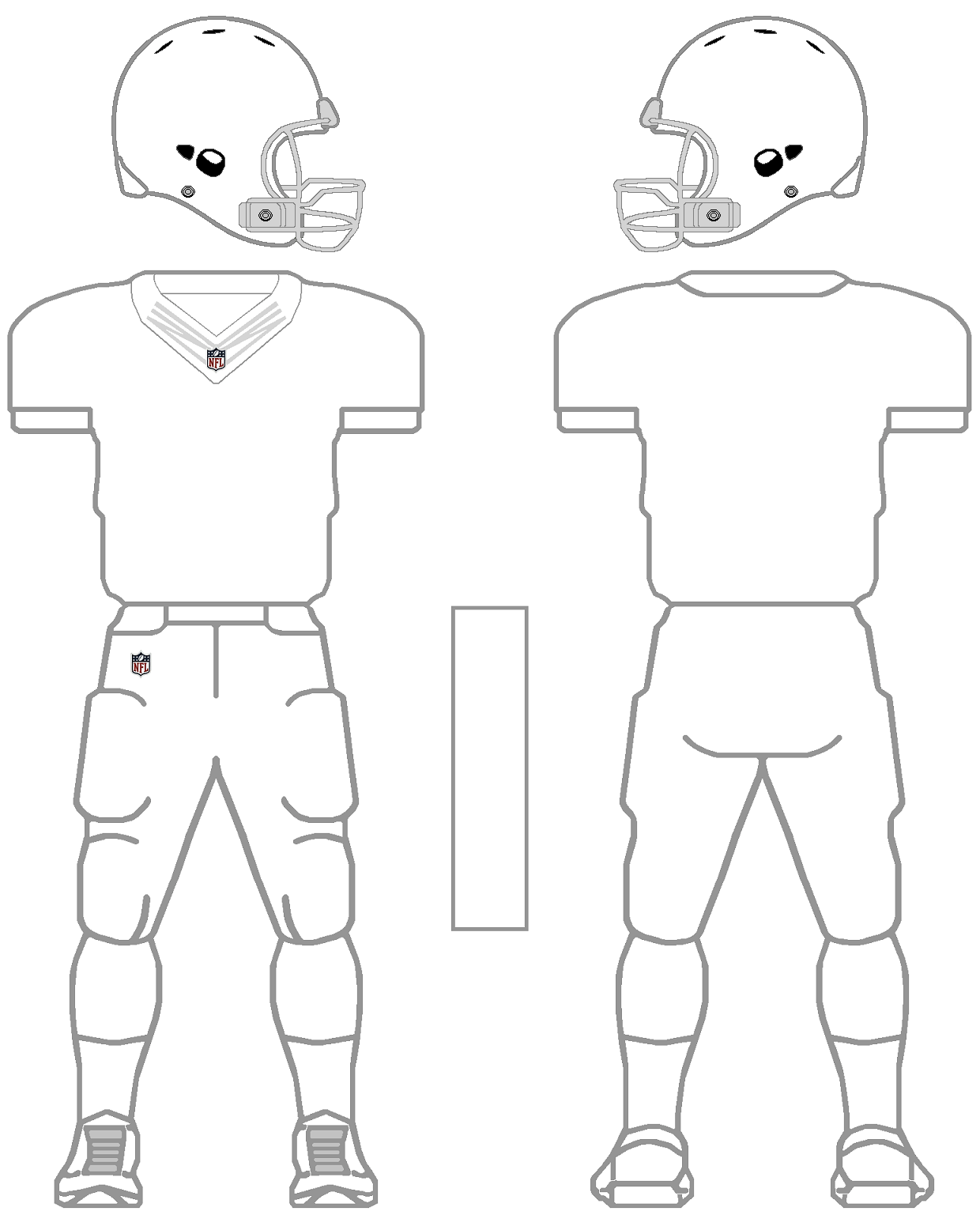 Football Blank Worksheet