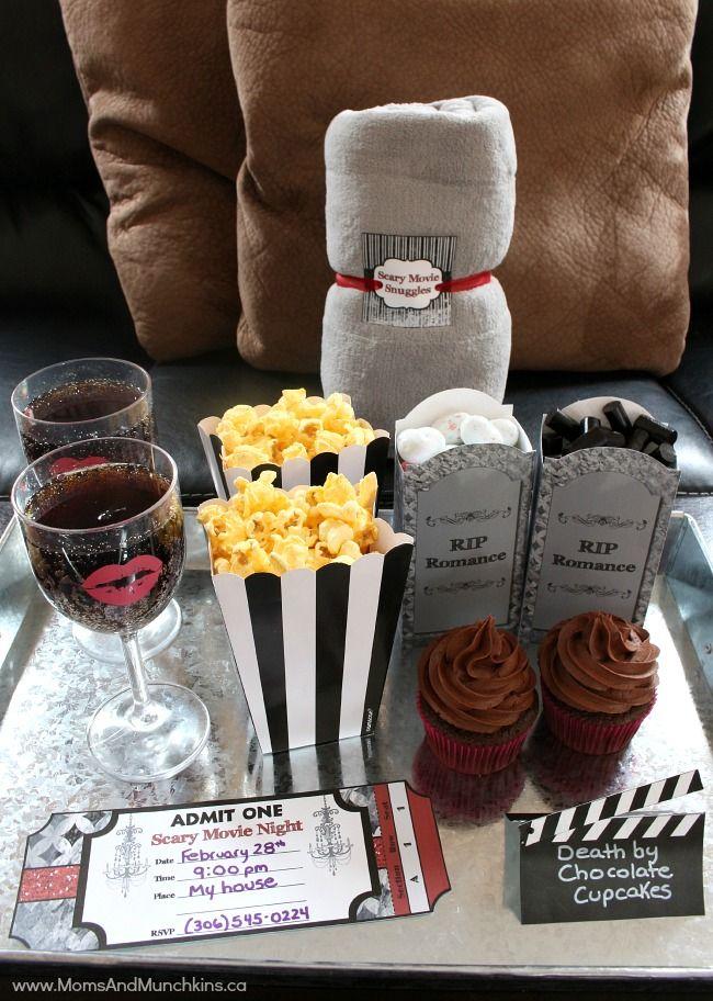 Scary Movie Date Night Ideas Scary Movies Slumber