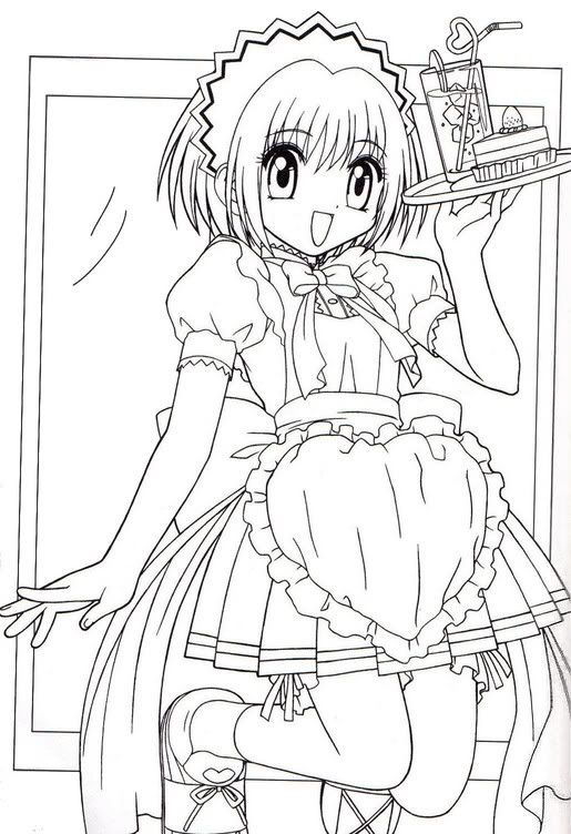 Tokyo Mew Mew Coloring Pages Google Search Anime