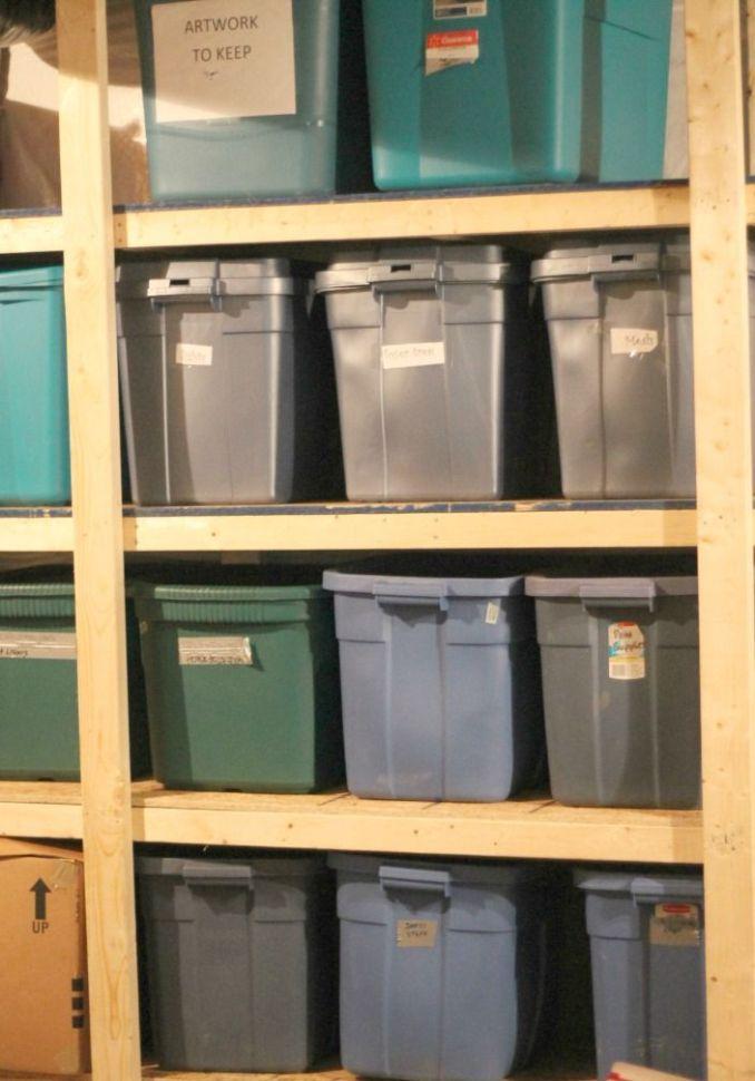 attic storage box