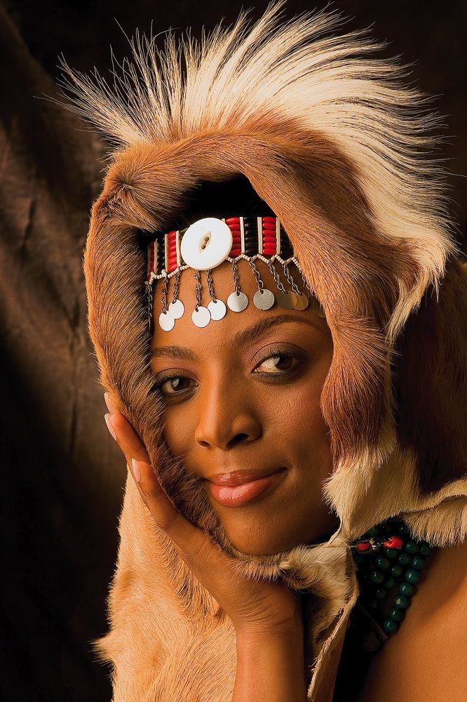 Zulu Royalty photographed by David Dodds Африка. ЮАР