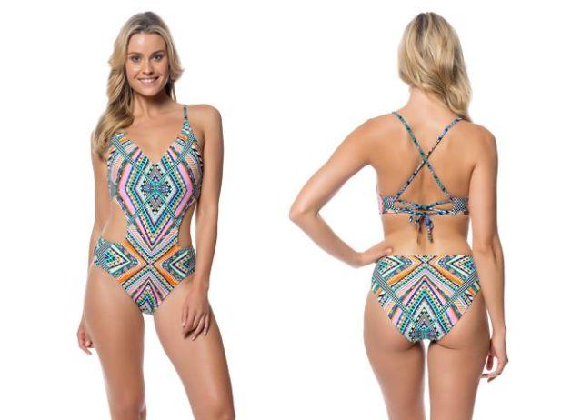 Plus+Size+Long+Swim+Skirt